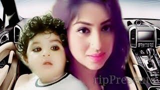 শাকিব খানের ছেলে মা অপু বিশ্বাসের সাথে ঘুরতে বের হচ্ছে । Shakib Khan Baby with Apu Biswas