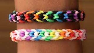 Rainbow Loom Nederlands - Inverted Fishtail || Loom bands, rainbow loom, tutorial, how to