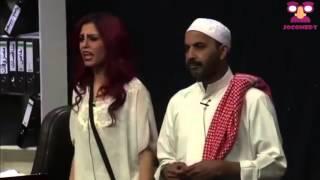 اجمل مشاهد مسرحية الصيدة بلندن   طارق العلي