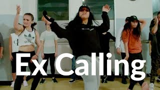 Ex Calling- @6lack Dance video   Dana Alexa Choreography