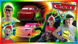 Cars 3 Driven To Win gameplay ★★ Rich Mixon Vs Natalie Certain ★★ David Vs Papa