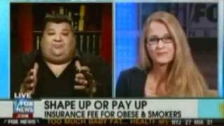 Big Guy From Boston vs. Skinny Chick on Fox News