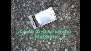 Crach test telefonu Myphone