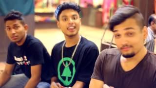 Bangla Mentalz   Fande Poriya   Karaoke   Instrumental with backing vocals