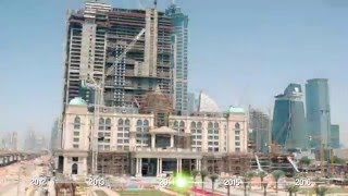 Al Habtoor City Construction Progress Time-lapse (April 2012 – January 2016)