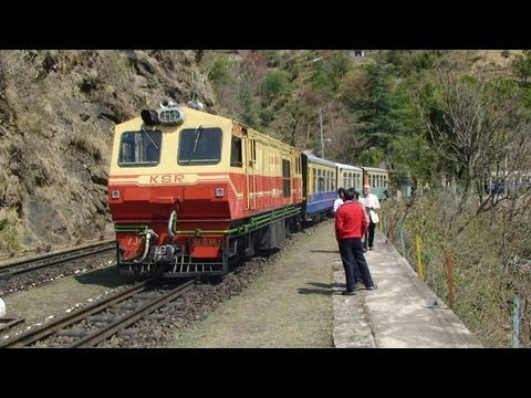 Indian Railways - 'Toy Train' to Shimla - Part 1 - Kalka to Dharampur Himachal