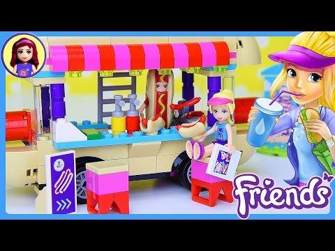 Xxx Mp4 LEGO Friends Amusement Park Hot Dog Van Build Review Silly Play Kids Toys 3gp Sex