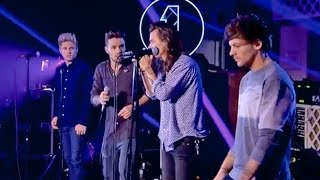 One Direction Gets Emotional During 'Torn' Performance!