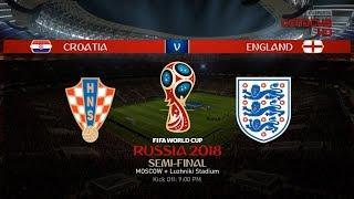 Croatia v England - Semi-final FIFA 18 World Cup - Luzhniki Stadium