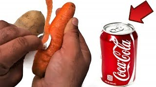Peeler Knife from a Soda Can