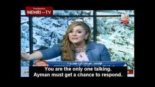 """TV Host goes full retard live on air: """"We dont want infidels here!"""""""