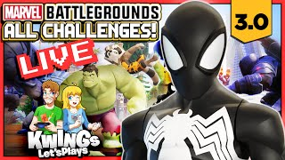 Disney Infinity 3.0 - Marvel Battlegrounds All 28 Challenges (Long Play)