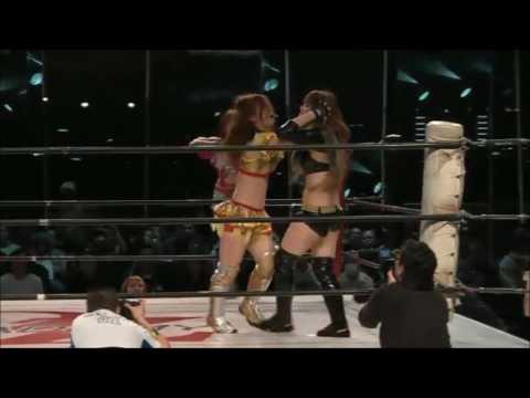 Mayumi Ozaki & Maya Yukihi Vs. Arisa Nakajima & Tsukasa Fujimoto