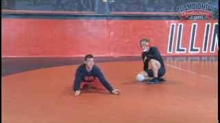 Become a Rock on the Bottom Position! - Wrestling 2015 #5