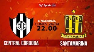 Primera B Nacional: Central Córdoba vs. Santamarina | #BNacionalenTyC