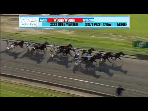 WAGGA - 10/06/2016 - Race 3 - XXXX THREE-YEAR-OLD PACE
