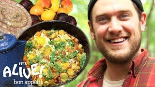 Brad Makes Campfire Breakfast | It