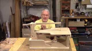 Drill Powered Wooden Scroll Saw Assembly, Part 1 - The Base