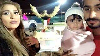 دكتوره خلود تنصدم من كيكة اليوم الوطني الكويتي.. شوفوا ردة فعل امين 😂