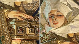 J.C. Leyendecker - A Close-Up Look at His Paintings [LIVE]
