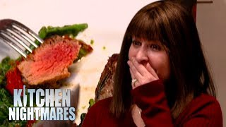 Gordon Witnesses Hilarious Argument Over Microwaved Lamb | Kitchen Nightmares