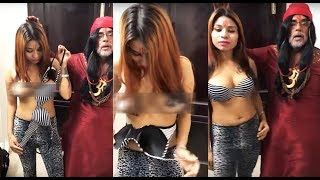 Swami Om and Topless Girl's Video Stating That A Bra Enhances A Woman's Beauty Is DISGRACEFUL!
