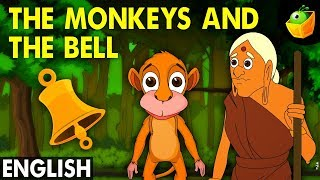 The Monkeys and The Bell - Hitopadesha Tales in English - Animation/Cartoon Stories For Kids