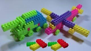 العاب مكعبات جميلة عمل دبابة وطائرة lego games make tanke & plane