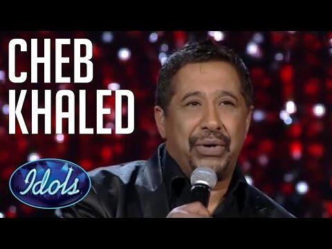 Cheb Khaled Sings live On Arab Idol Idols Global الشاب خالد عيشة