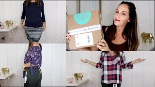 STITCH FIX | OCTOBER 2017 | UNBOXING + TRY ON