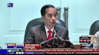 Jokowi: Pembangunan Infrastruktur Tidak Bisa Ditunda