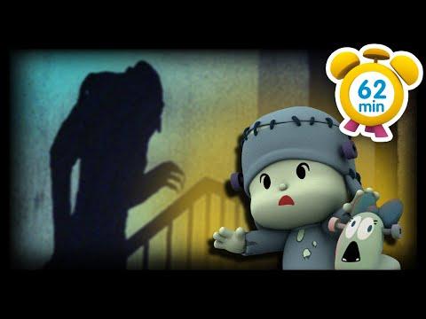 🕷️ POCOYO MAGYARUL – HORRORFILMEK 🧛 62 perc Teljes Epizódok Rajzfilm gyerekeknek