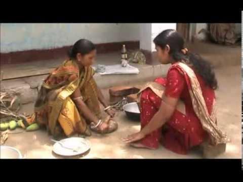 Preparation of mango pickle Odia VARRAT Odisha