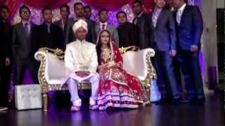 Nadia's wedding dance