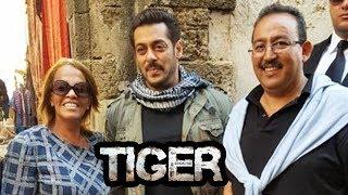 Salman Khan With Crew Mohammed & Abdel In Morocco - Tiger Zinda Hai