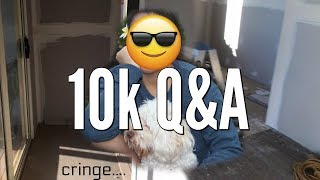 10k Q&A + REAL BEDROOM SPEED BUILD // SIIMEREE