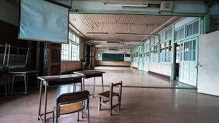 ABANDONED Japanese School Heard Creepy Music