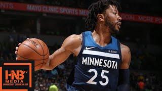 Minnesota Timberwolves vs Houston Rockets Full Game Highlights / Game 4 / 2018 NBA Season