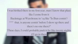 Drake- Too Much (Lyrics) Clean