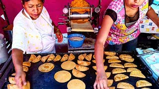 STREET FOOD MEXICO!!! - Amazing Enchiladas - Real Mexican Food - Best Street Food In The World!!!