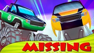 Bong and Dong | missing in action | monster trucks for kids | episode 6