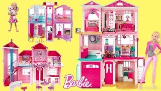 Barbie Dreamhouse 2016 -  Best Barbie Dreamhouse Unboxing Aseembly and Full House Tour