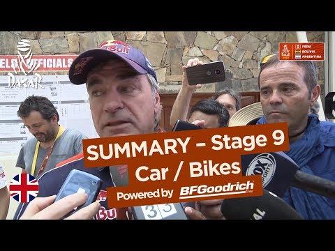 Summary Car Bike Stage 9 Tupiza Salta Dakar 2018