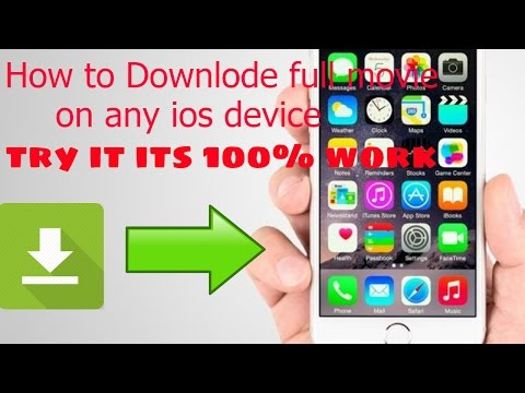 How To downlode  Movie and Video on iPhone_iPod_iPad No Jailbreak!