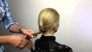 Unser Haarknoten als Festtagslook - von ahuhu organic hair care