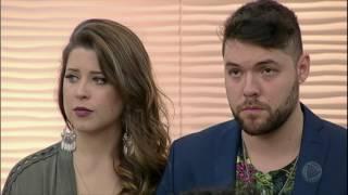 Andressa e Nasser falam sobre a eliminação no Power Couple Brasil