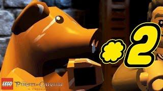 LEGO Pirati dei Caraibi Gameplay ITA Walkthrough #2 - Tortuga - La Maledizione della Prima Luna