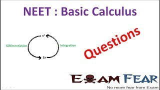 NEET Physics Basic Differentiation Integration : Questions