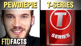 The Differences Between PEWDIEPIE and T-SERIES