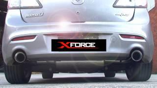 XFORCE Mazda 3 MPS 3